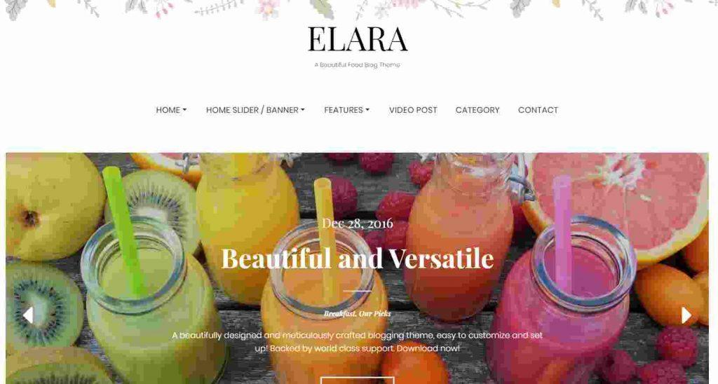 best theme for food website free beautiful