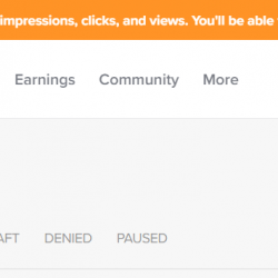 Working on Getting your Gigs' Impressions, Clicks, and Views Back Online