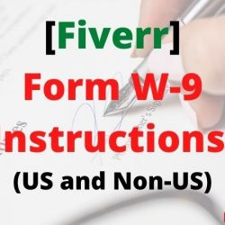 [Fiverr] Get Instant Payment | Form W-9 Instructions