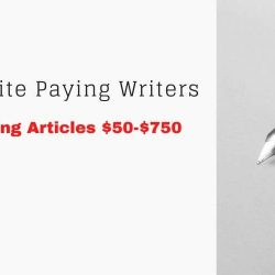 [Actual Writing Websites] $50-$750 | In-depth Step-by-Step Article