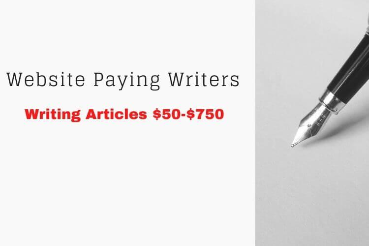 Read more about the article [Actual Writing Websites] $50-$750 | In-depth Step-by-Step Article