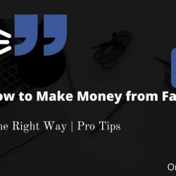 How to earn money from Facebook page – $1000/Mo