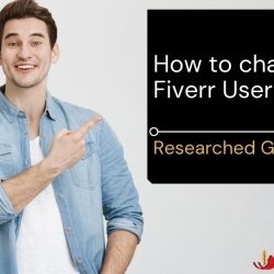 How to change Fiverr username?