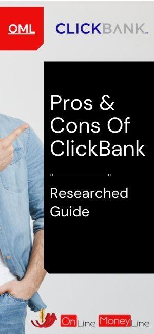 Pros & Cons Of ClickBank