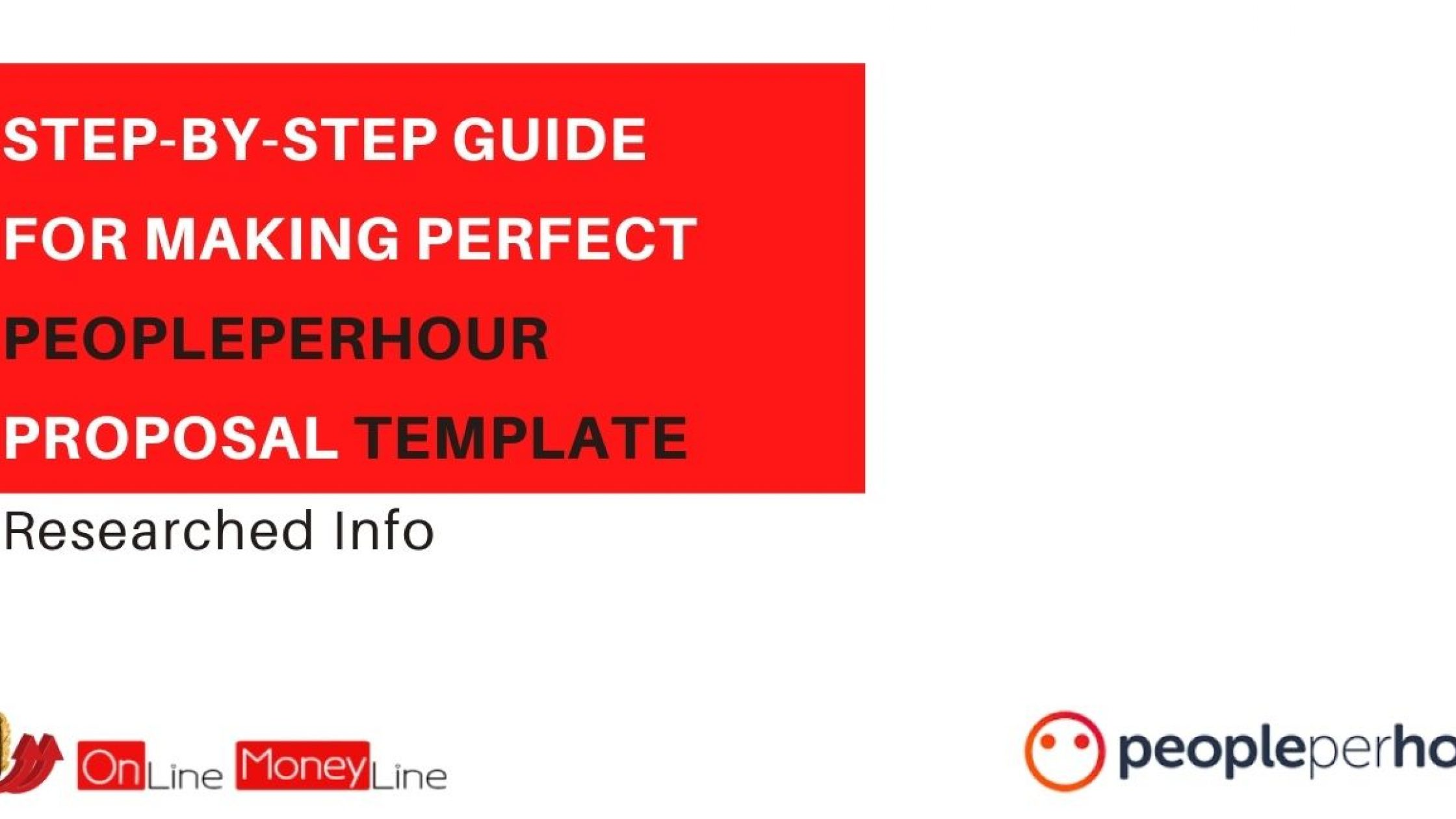 Step-By-Step Guide For Making Perfect PeoplePerHour Proposal Template