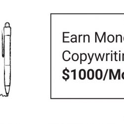 Earn Money with Copywriting | $1000/Mo
