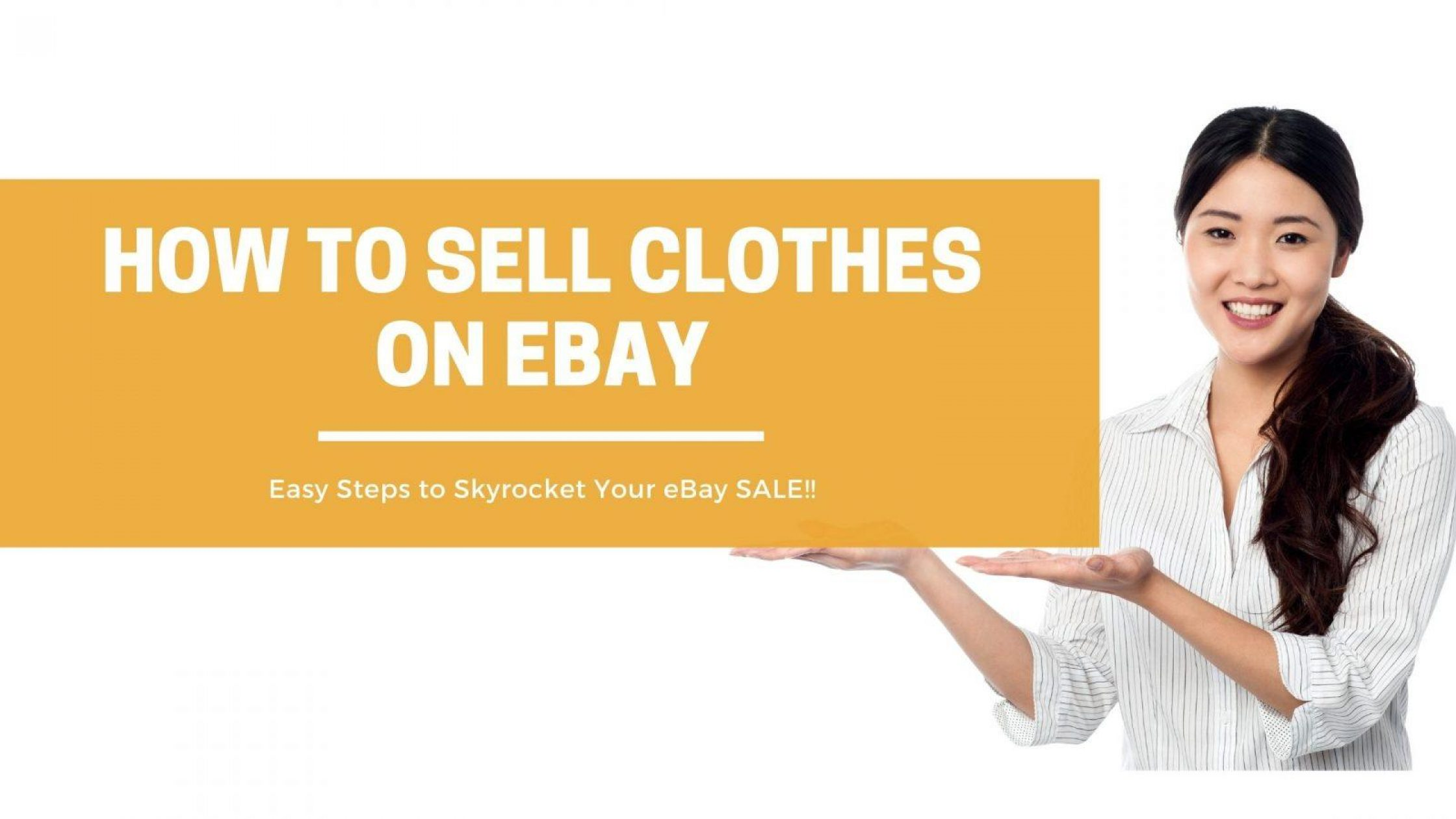 How to Sell Clothes on eBay – A Definitive Guide