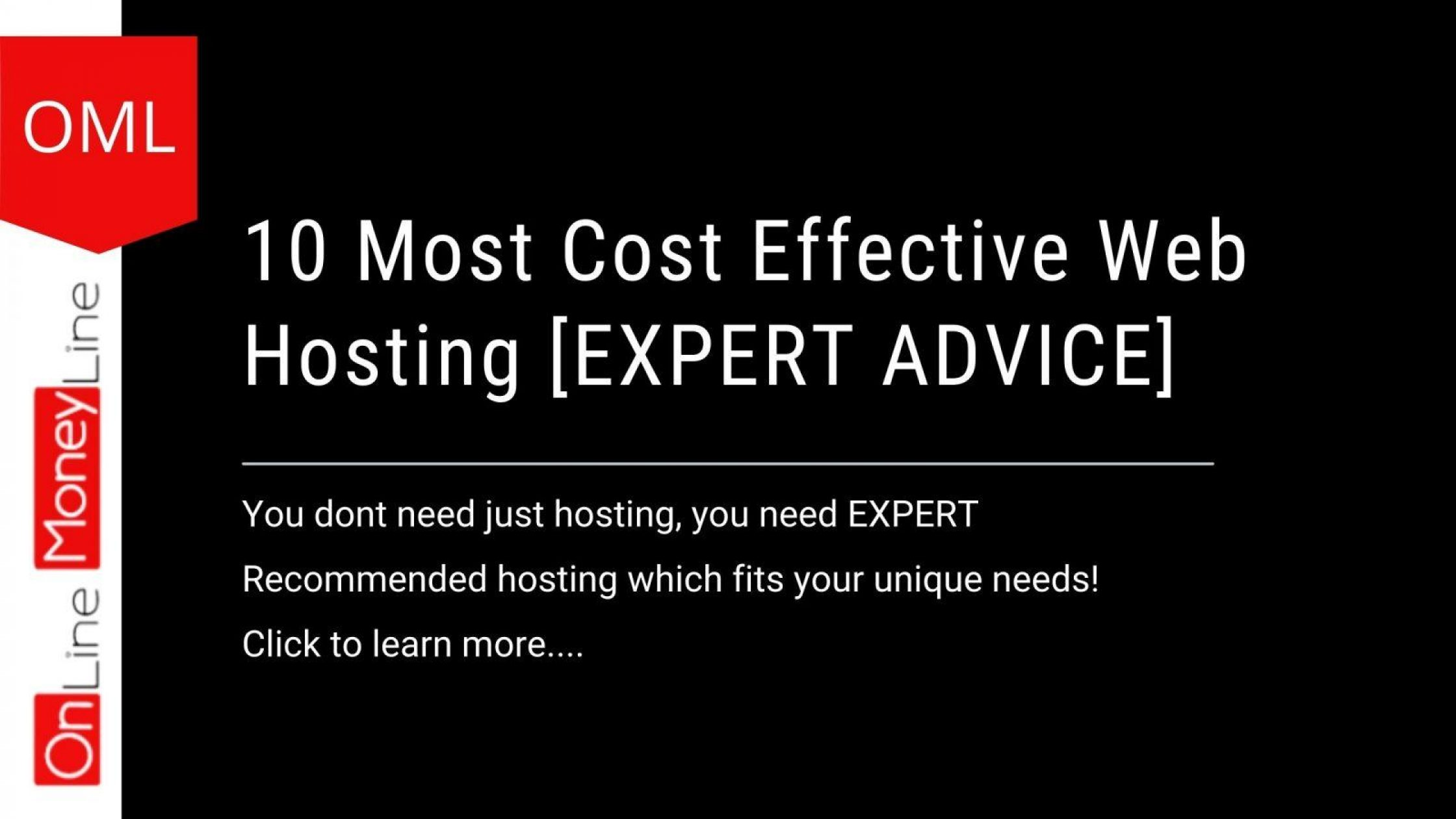 10 Most Cost Effective Web Hosting [EXPERT ADVICE]