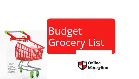 Read more about the article Content is still to check: Budget Grocery List
