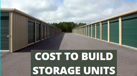 Read more about the article Cost To Build Storage Units
